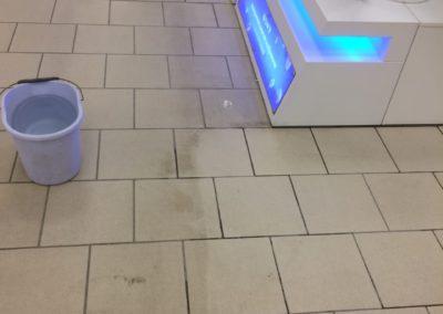 уборка торгового зала